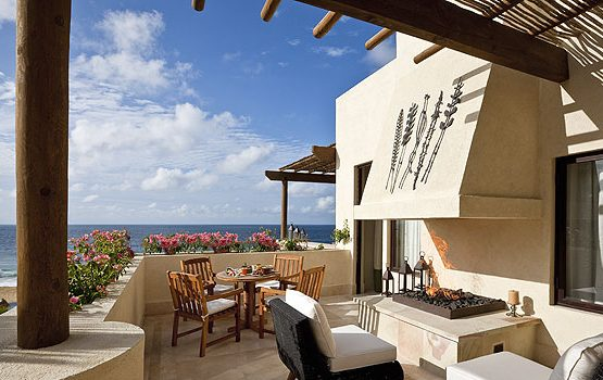 Ourdoor patio Dos Mares Suite at The Resort at Pedregal