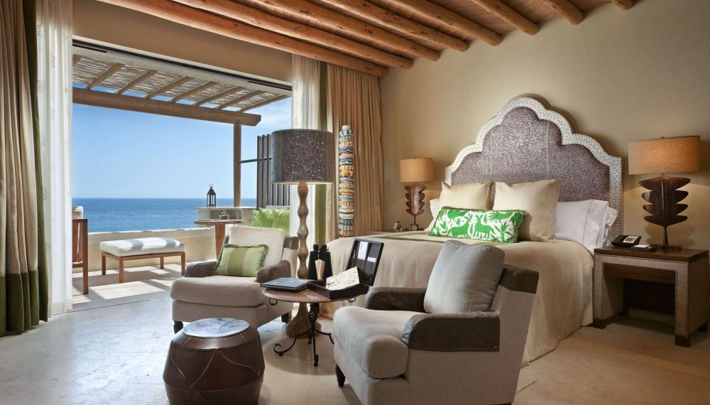 Ocean view room at The Resort at Pedregal