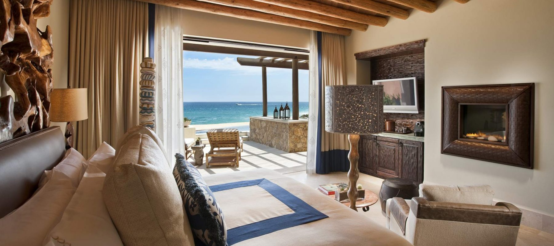 Pedregal Suite Bedroom at The Resort at Pedregal