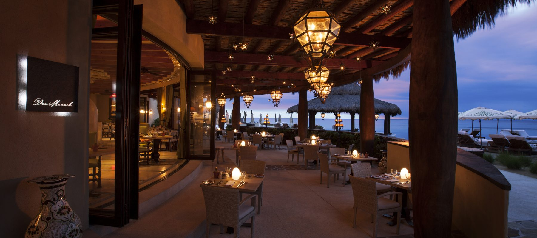 Don Manuel's terrace Glory Dusk at The Resort at Pdregal