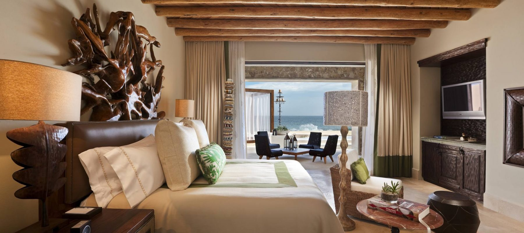 Presidential Beachfront Suite at The Resort at Pedregal