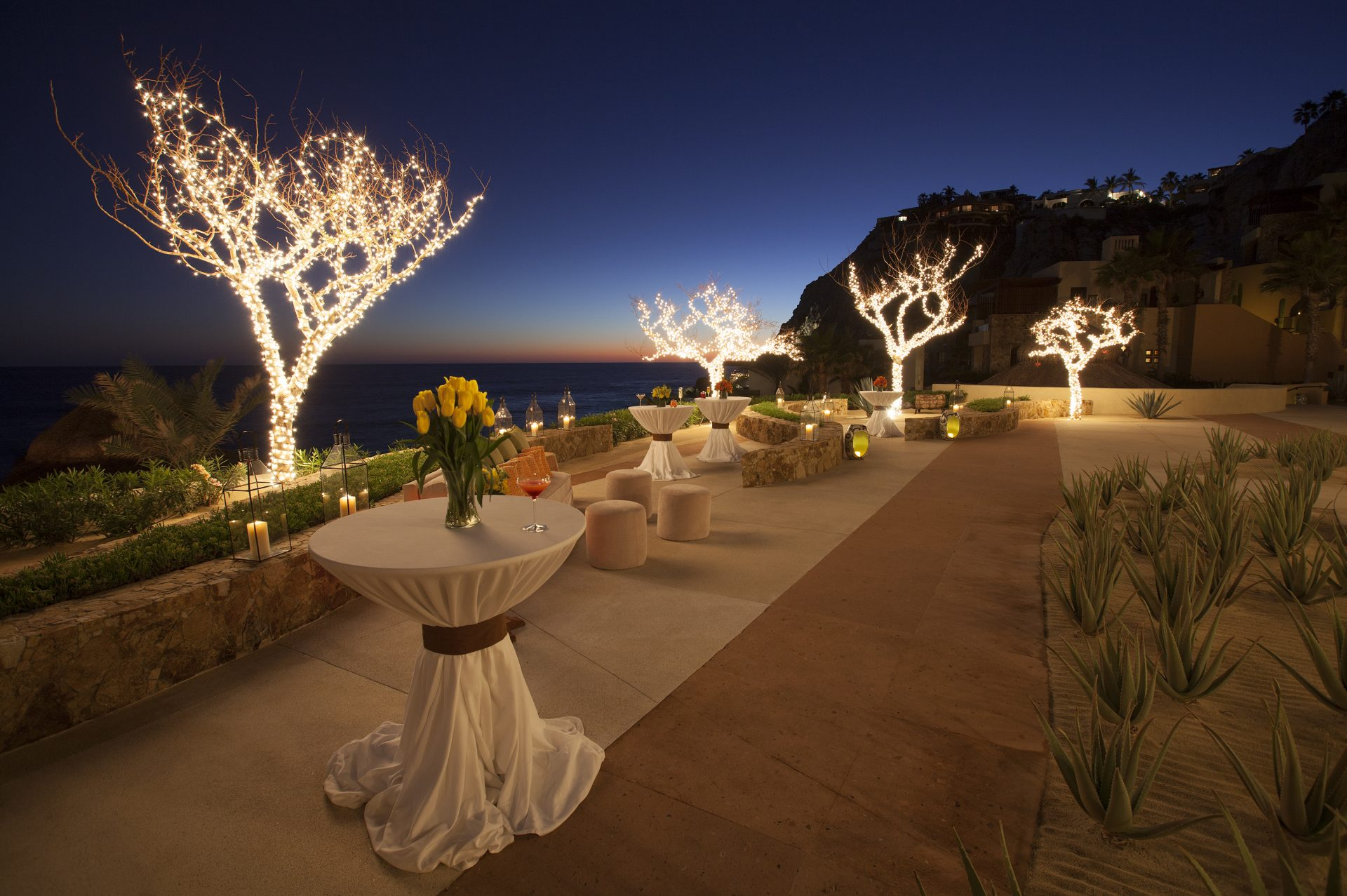 Amazing Pai Pai dusk at The Resort at Pedregal