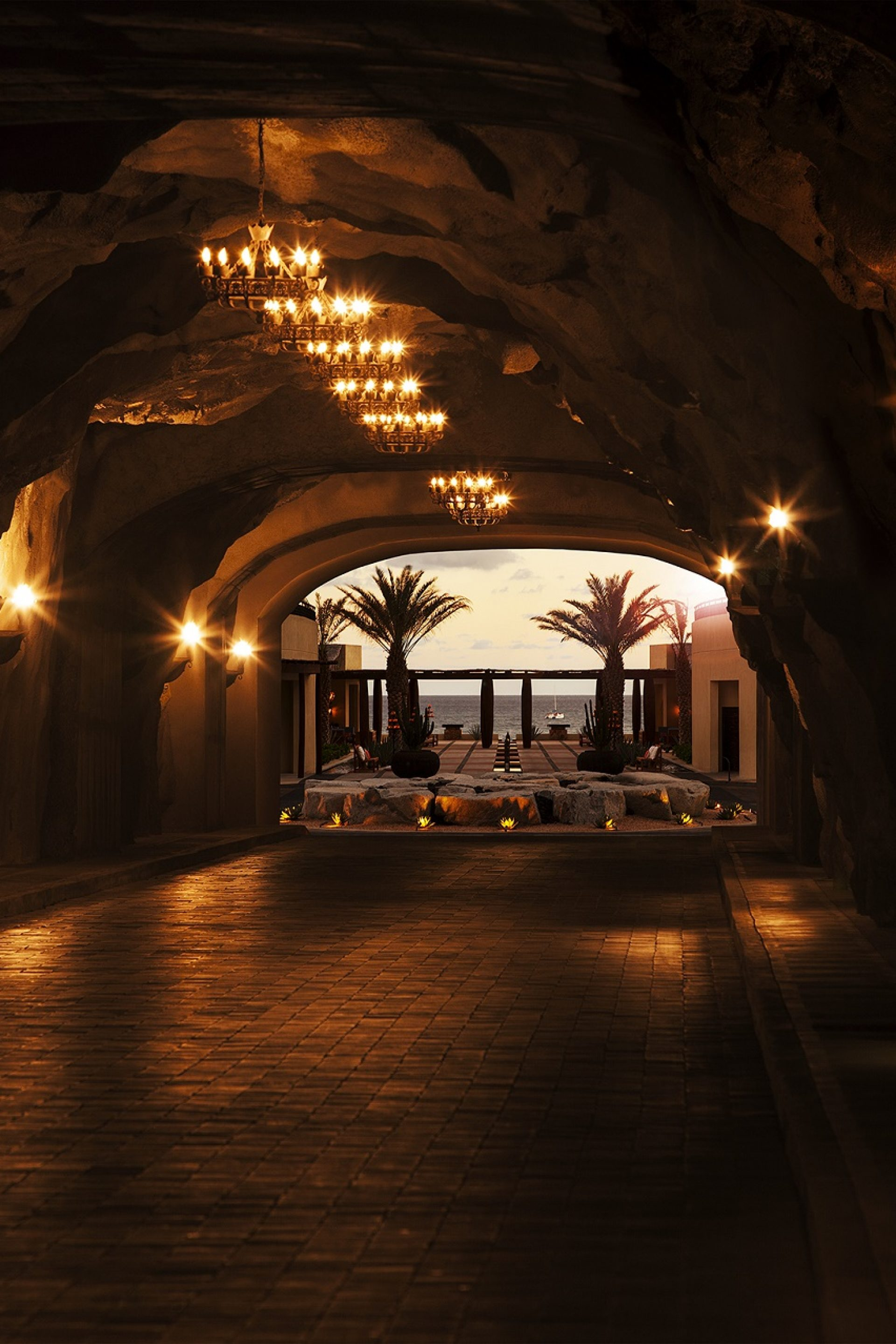 The Famous Tunnel at The Resort at Pedregal