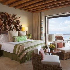 Luxurious interior of the Presidential suit at The Resort at Pedregal