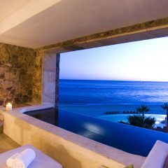 Nice Ocean View from a plunge pool at The Resort at Pedregal