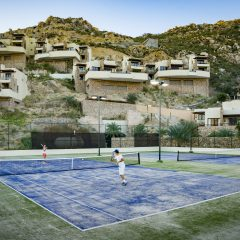 Great Tennis Courts at The Resort at Pedregal