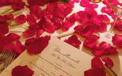 Romantic Catering Menu at The Resort at Pedregal