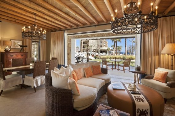Spacious, luxurious Ocean View Vista accommodations at The Resort at Pedregal in Cabo San Lucas