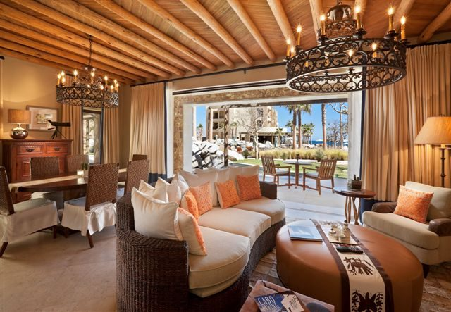 Luxurious Pedregal Residence Livingroom at the Resort at Pedregal