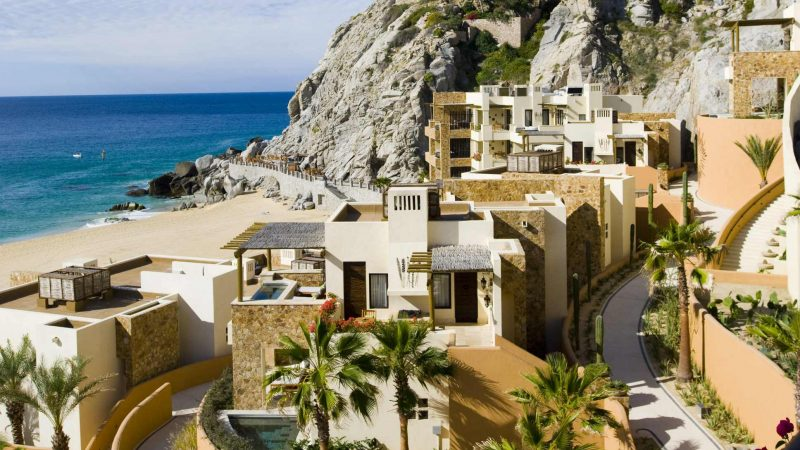 Exterior view of rooms at The Resort at Pedregal