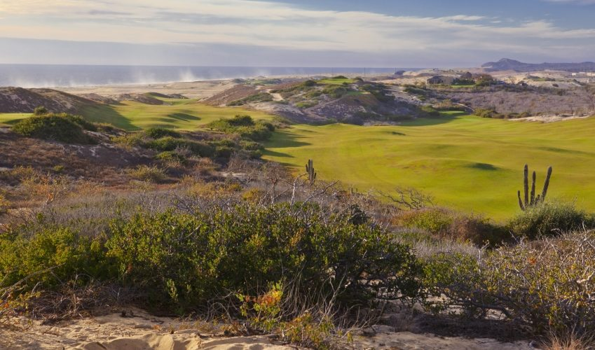 Desert Golf Course overlooking the Ocean in Los Cabos